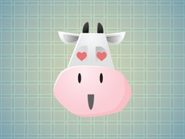 Cow Faces Stickers will make your chat more interesting and funny