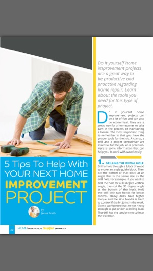 Home improvement simplified magazine on the app store screenshots solutioingenieria Image collections