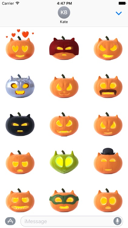 Cat O'Lanterns - Halloween Cat Pumpkins stickers screenshot-0