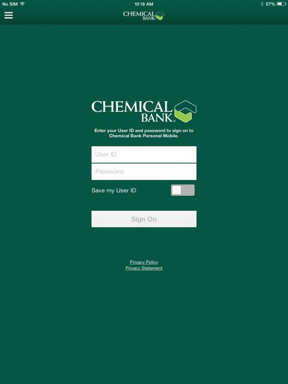 Chem Bank Mobile for iPad
