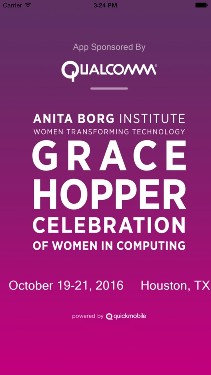 Grace Hopper Celebration 16