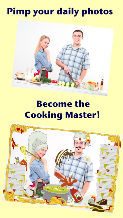 Cook Booth - Party Photo Editor