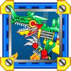 Activities of Dinosaur Robot Fighter