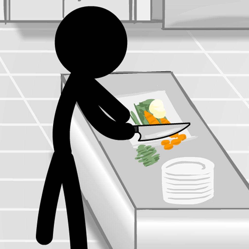 Stickman Crime in Kitchen - The Best New High IQ Test
