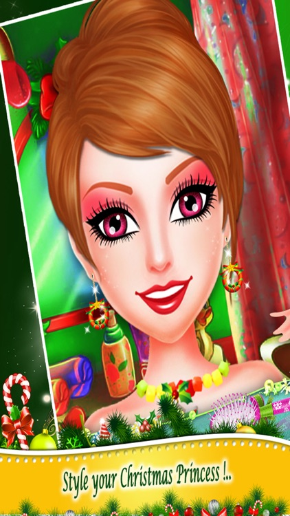 Christmas Beauty Princess Salon