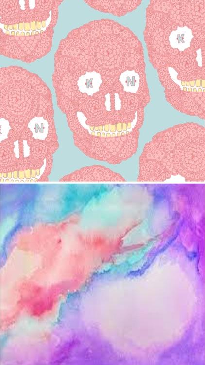 Pastel Wallpapers HD - Beautiful Pastel Patterns screenshot-4
