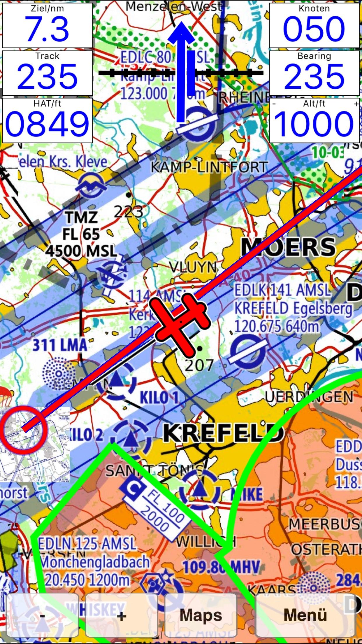 Flymap - Moving Map System Screenshot