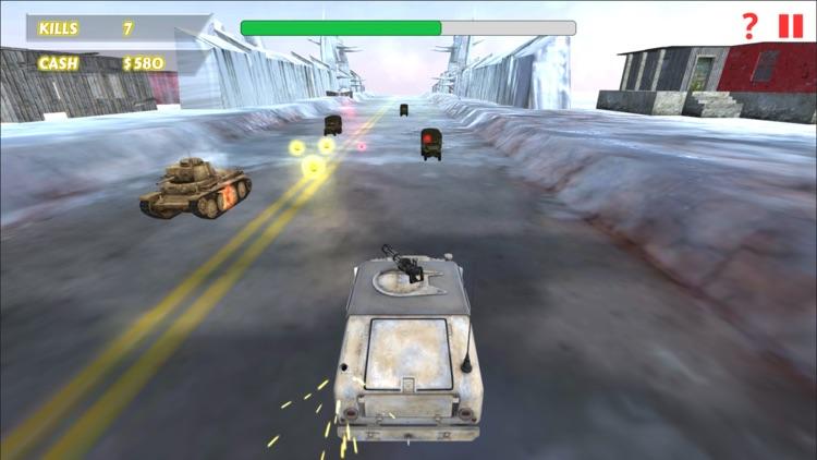 Car Racing Shooting Game