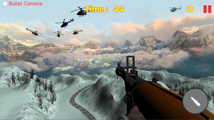 Bazooka Helicopter Shooting Sniper Game screenshot-3