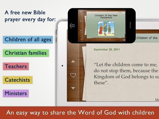 Children's Bible Daily Prayers for Family & Schoolのおすすめ画像1