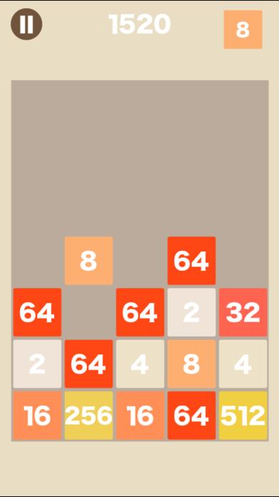 [大人の脳トレ] ブロック2048 脳トレ暇つぶしゲームのおすすめ画像2
