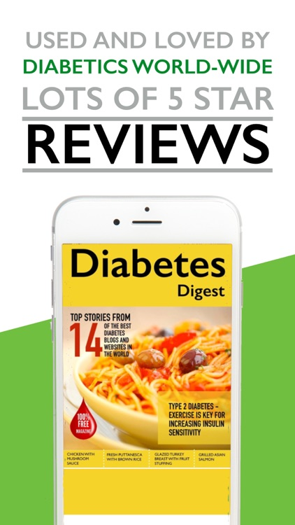Diabetes Digest - Diabetic Mag screenshot-2