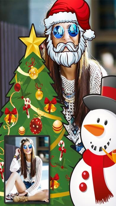 Navidad Snap filtros  – fotoeditor caras navideñasCaptura de pantalla de3
