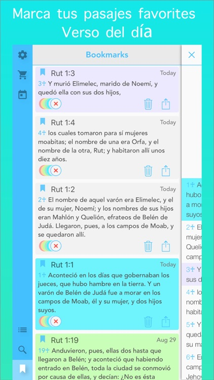 La Biblia Reina Valera en Español (Spanish Bible) screenshot-3