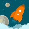 Astro Rocket Saga - Asteroids diving survival game