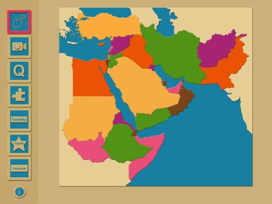 iWorld Middle East Region screenshot one