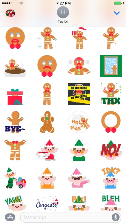Christmasmoji - Christmas Emojis and Stickers screenshot-3