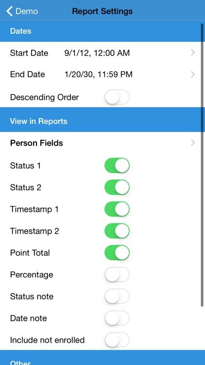 Attendance2 screenshot-3