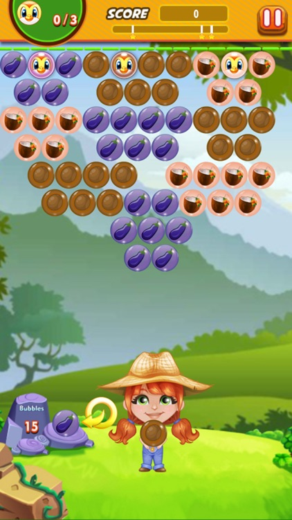 Bubble Shooter Farmer : Free Arcade Bubble shooter screenshot-3