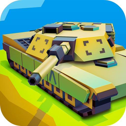 Tank Hero Block Laser Wars