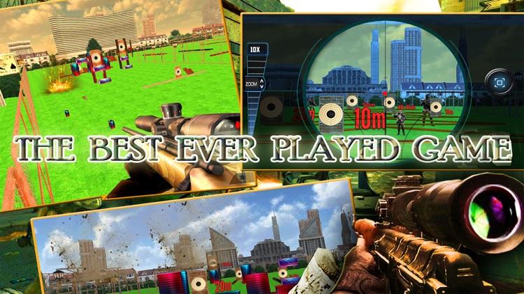Elite Commando Training Sniper Shooter : free game