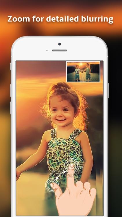 Blurr it- photo blur effect editor & touch to blur screenshot-3