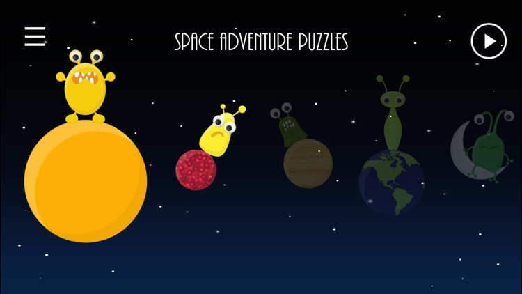 Toddler Space Adventure Puzzle FREE