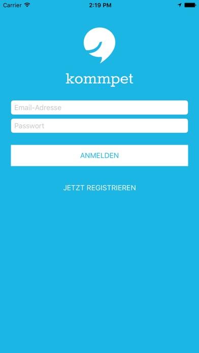 kommpet TelefonsekretariatScreenshot von 2