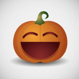 Smile Pumpkin for Halloween - Fx Sticker