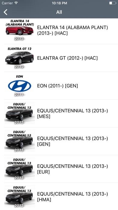 Screenshot for Hyundai Car Parts - ETK Parts Diagrams in Poland App Store