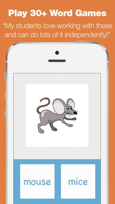 First Grade Learning Games - Fall Review App screenshot two
