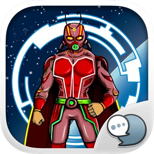 Superhero Emoji Stickers Keyboard Themes ChatStick
