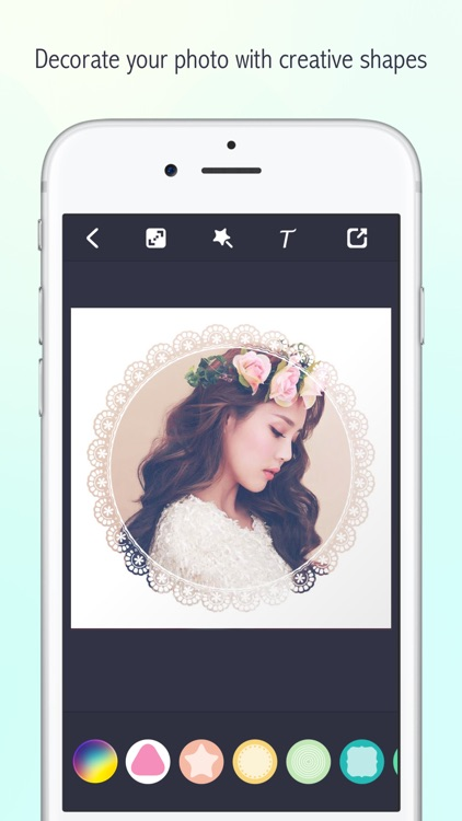 Lighto - Shape Border Editor & Overlay Frame Mask