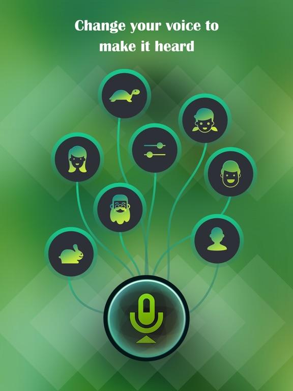 Voice Changer, Sound Recorder-ipad-0