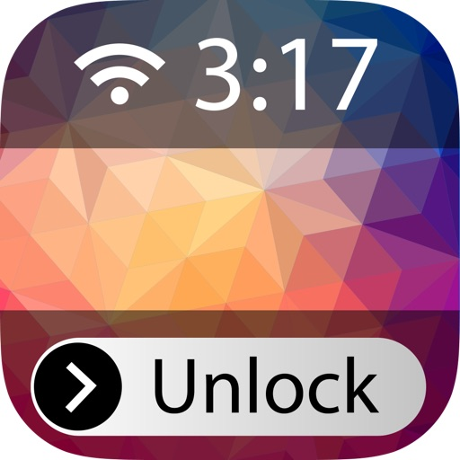 Custom Lock-Screens - Magic Home-Screen, Wallpapers, Backgrounds, Monogram It! iOS App