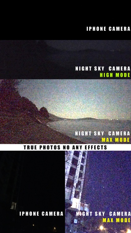 Night Sky Camera (Night mode)