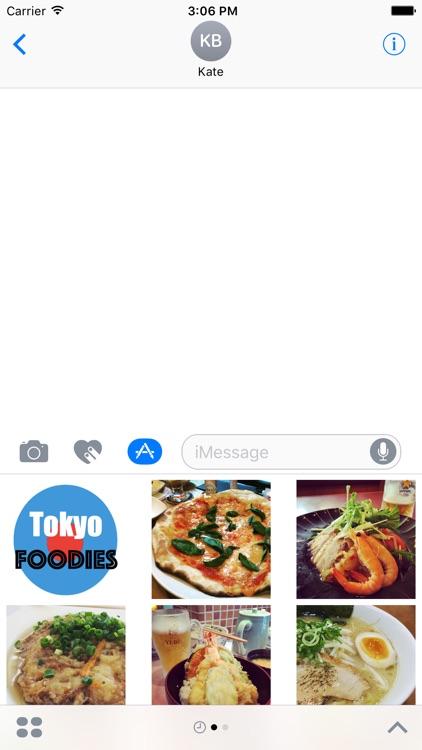Tokyo Foodies Stickers screenshot-3