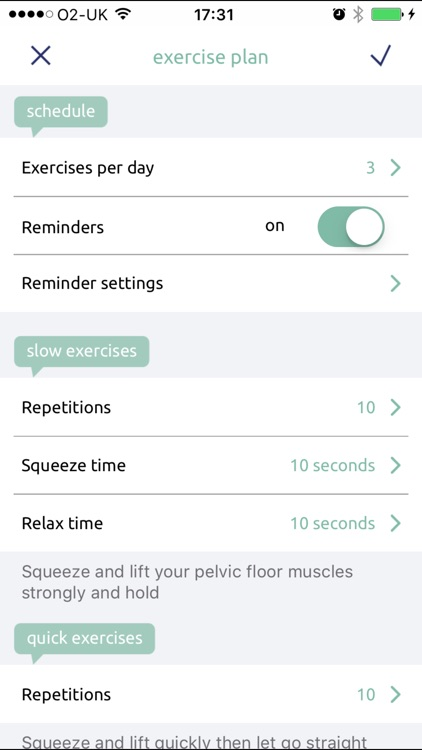 Squeezy - NHS Pelvic Floor Muscle Exercises for CF