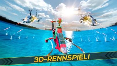 Hubschrauber Krieg 3D . Flugzeug Simulator SchießScreenshot von 1