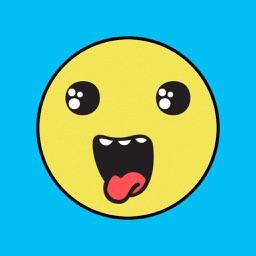 Weird Mood Face Stickers