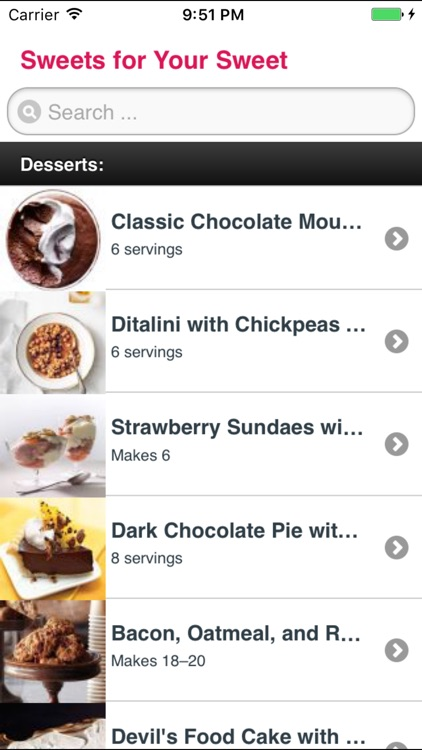 Desserts & Cake Recipes screenshot-0
