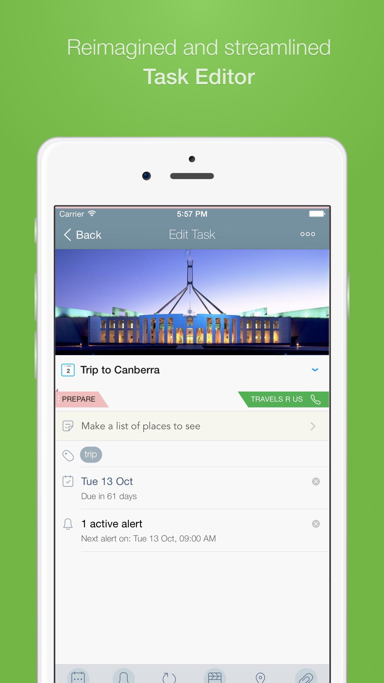 2Do - Todo List, Tasks & Notes Screenshot