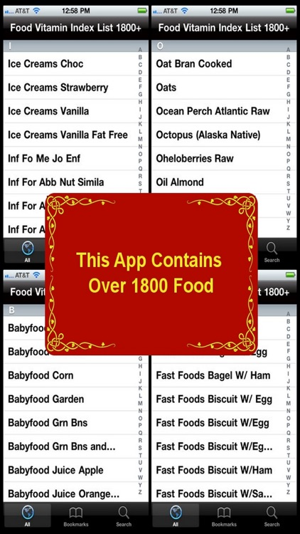 Food Vitamin Index List 1800+ screenshot-3