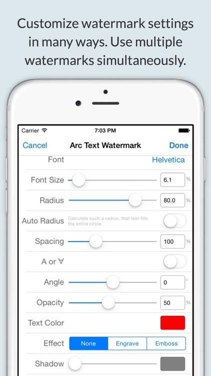 iWatermark+ Lite Add Watermark screenshot-3