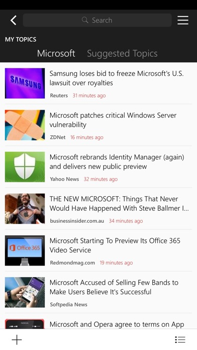 MSN News Screenshot