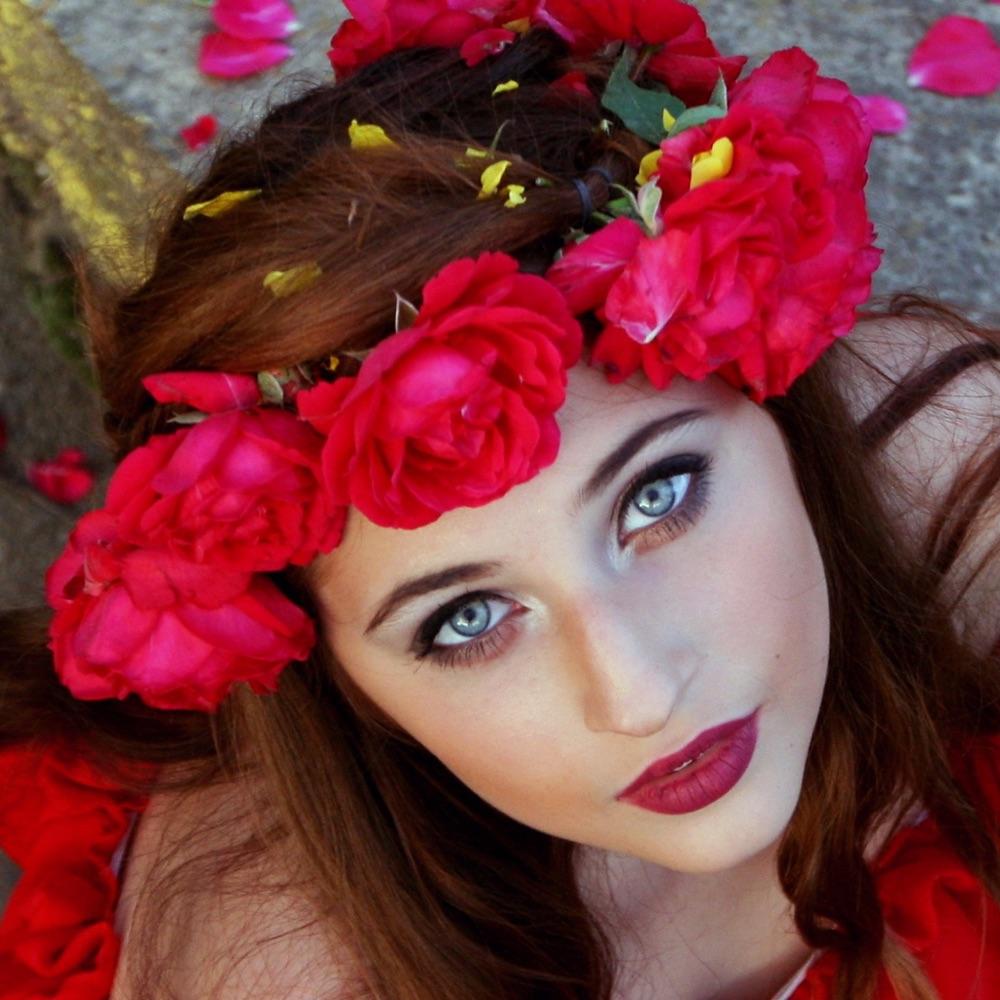Flower crown app bride fashion floral hairstyles app mobile apps izmirmasajfo