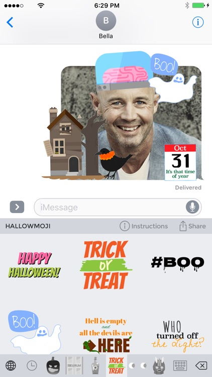 Hallowmoji - Halloween Emojis and Stickers screenshot-3