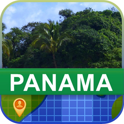 Offline Panama Map - World Offline Maps