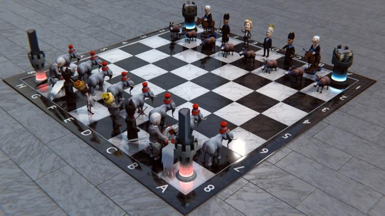 Political Chess 3D Pro screenshot-0