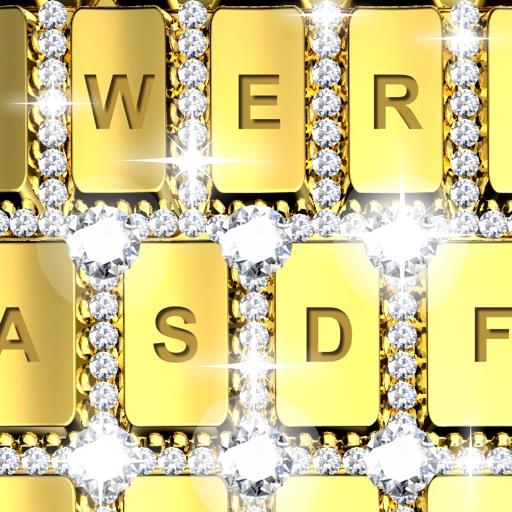 Girls Rose Gold Wallpaper: Rose Gold, Diamond, Gold Keyboards By
